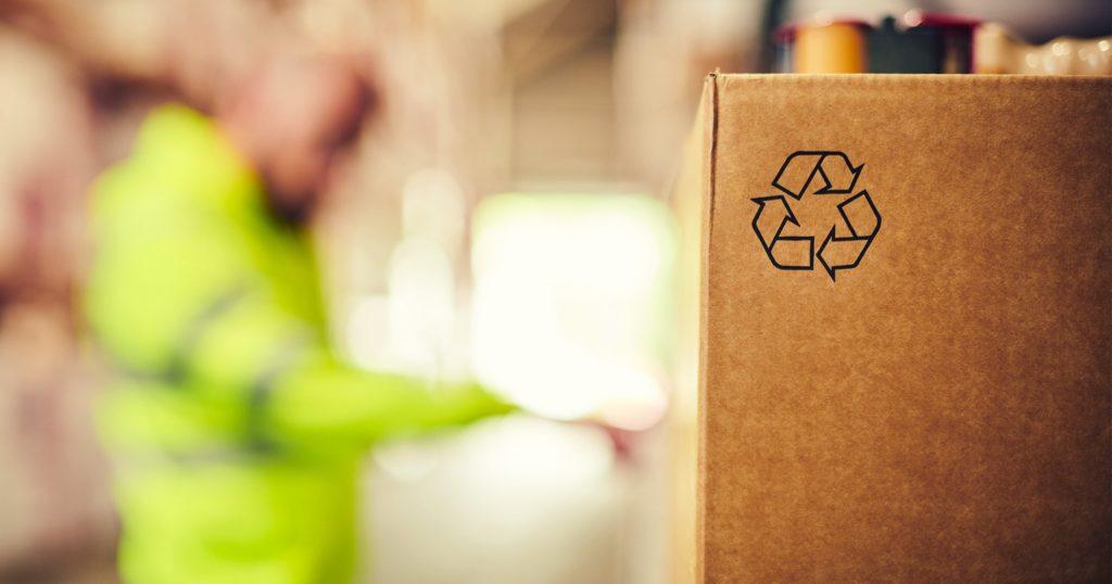 Futuro da embalagem. reciclabilidade